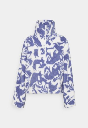 AMALIA - Fleece jumper - blue liquid fluff