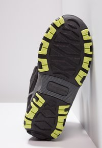 Kappa - RESCUE TEX - Winter boots - black/lime - 5