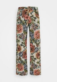 FLORAL JACQUARD SKATE - Relaxed fit jeans - multi