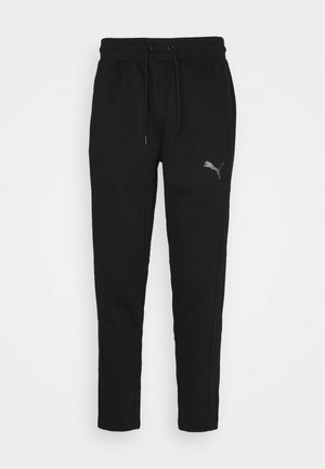 TRAIN TAPERED PANT - Tracksuit bottoms - puma black