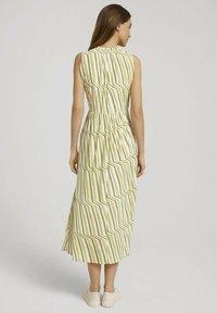 TOM TAILOR - Day dress - green watercolor stripe - 2