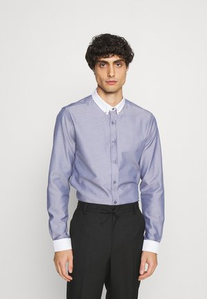 FLINT SHIRT - Formal shirt - charcoal
