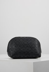 Calvin Klein - MONOGRAM MAKE UP BAG - Trousse de toilette - black - 3