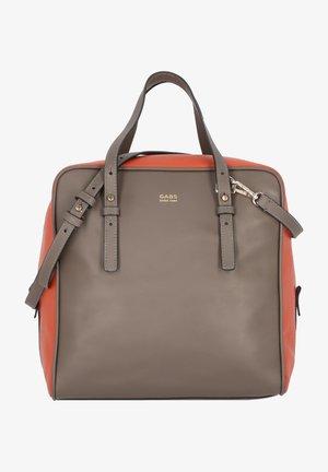 JENNIFER - Handbag - gray/red