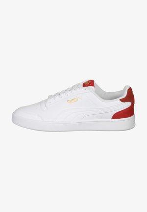 Trainers - puma white/poppy red