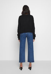 Who What Wear - THE BOXY - Cardigan - black - 2