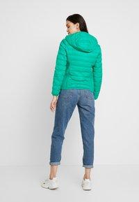 Benetton - HOODED JACKET - Down jacket - bright green - 2