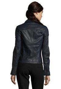 7eleven - IN TRENDIGEM LOOK - Leather jacket - navy - 1
