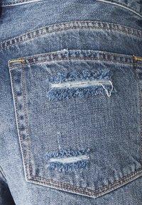 Free People - LOVING GOOD VIBRATIONS - Denim shorts - dark blue denim - 3