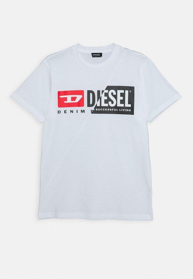 DIEGOCUTY MAGLIETTA UNISEX - T-shirt con stampa - bianco