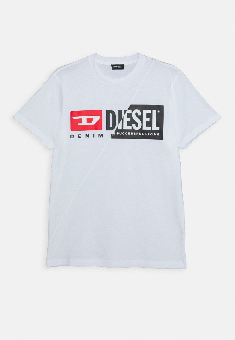Diesel - UNISEX - Print T-shirt - bianco