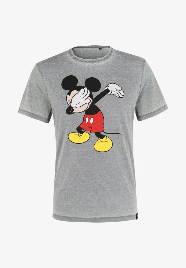 DISNEY MICKEY - T-shirt print - grau