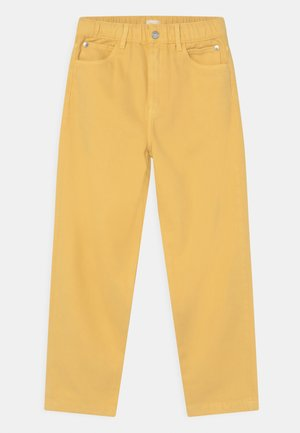 Relaxed fit jeans - yellow
