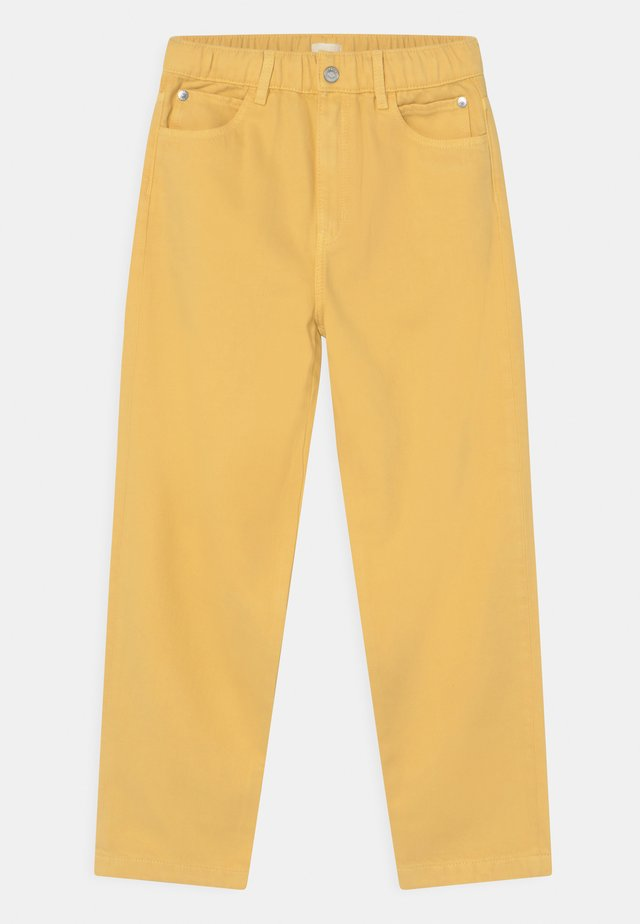 Jeans baggy - yellow