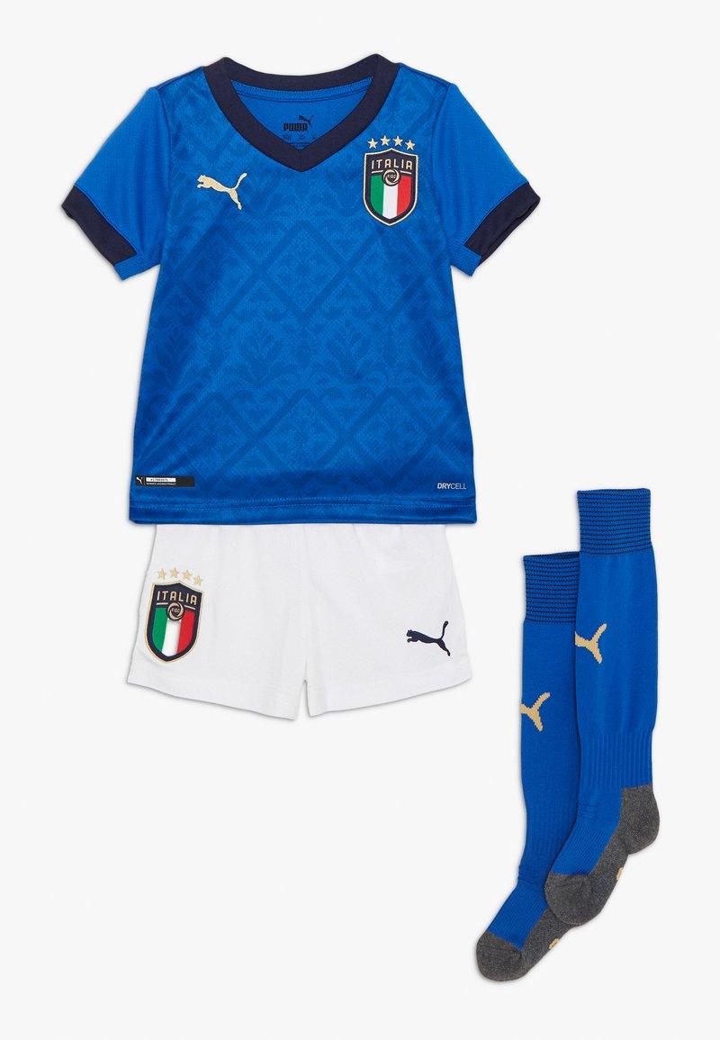 Puma - ITALIEN FIGC HOME MINIKIT SET - National team wear - team power blue/peacoat