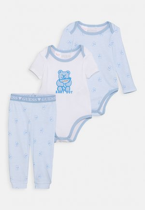 BODY PANTS - Pyjama set - blue/white