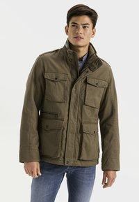 camel active - FIELD JACKET - Summer jacket - olive - 0