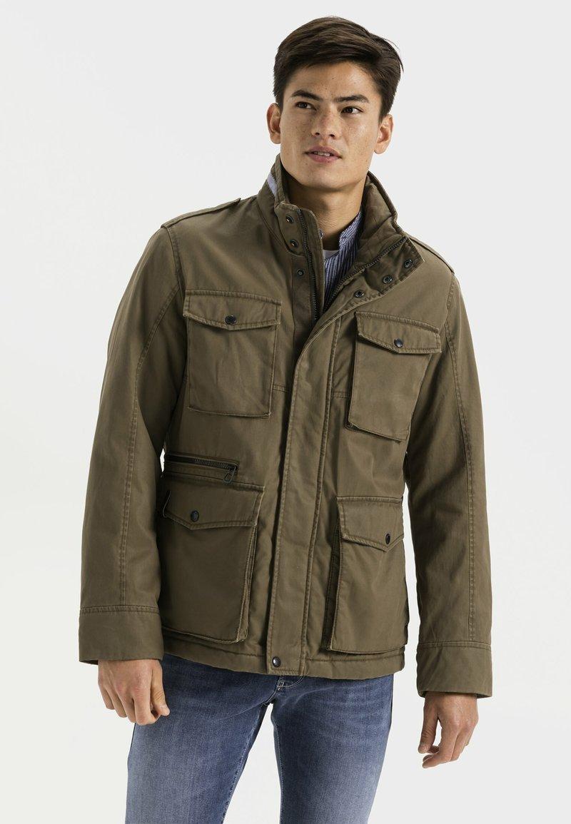 camel active - FIELD JACKET - Summer jacket - olive