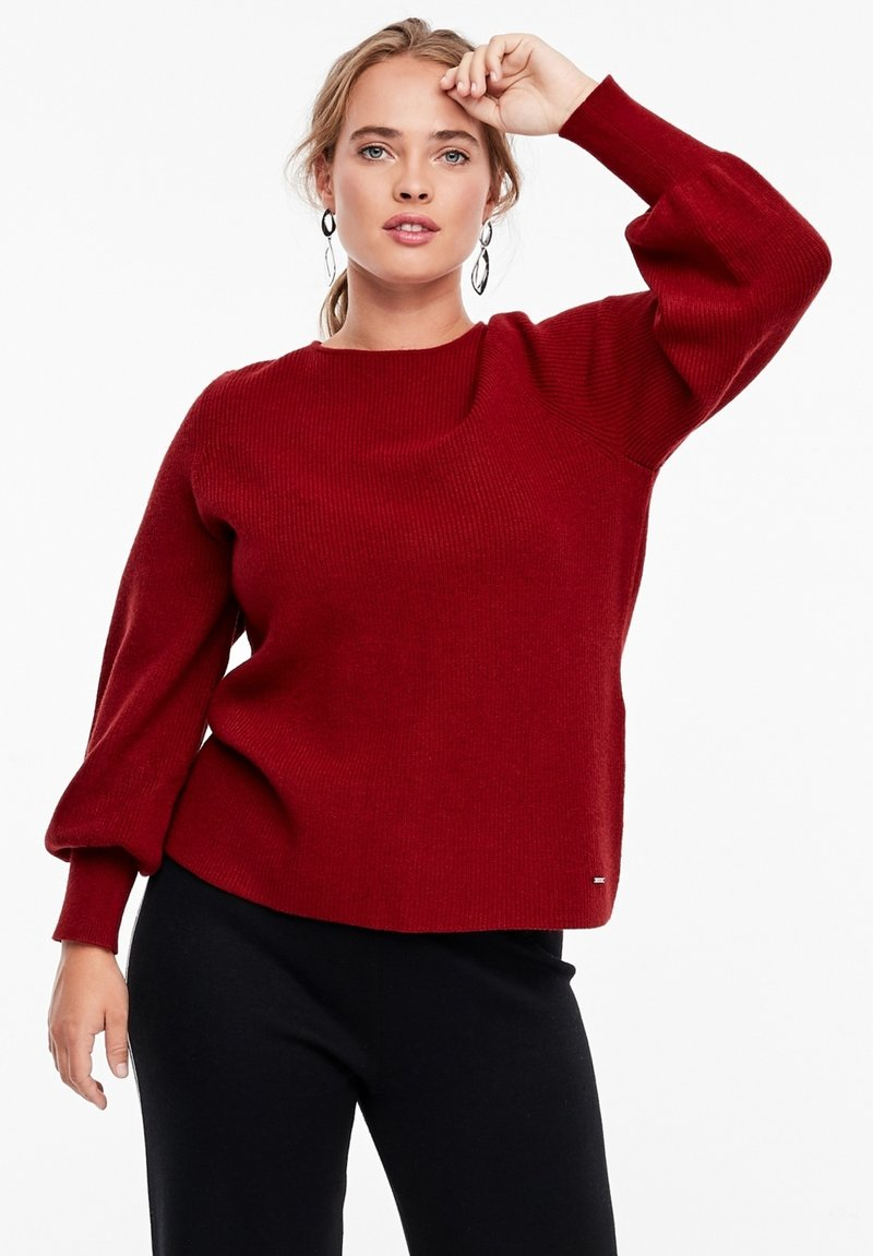 Triangle - Jumper - red