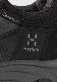 Haglöfs - Hiking shoes - true black/magnetite - 5