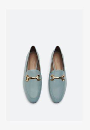 Slip-ons - light blue