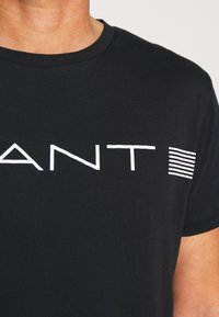 GANT - STRIPE - Camiseta estampada - black - 4
