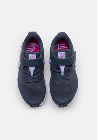 Nike Performance - STAR RUNNER 2 UNISEX - Juoksukenkä/neutraalit - thunder blue/purple pulse/fireberry/white - 3