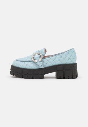 IF YOU GO AWAY - Loaferit/pistokkaat - blue
