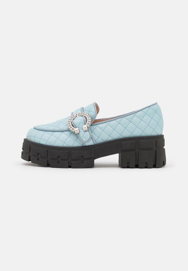 IF YOU GO AWAY - Slippers - blue