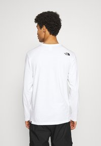 The North Face - THROWBACK TEE  - Top s dlouhým rukávem - white - 2
