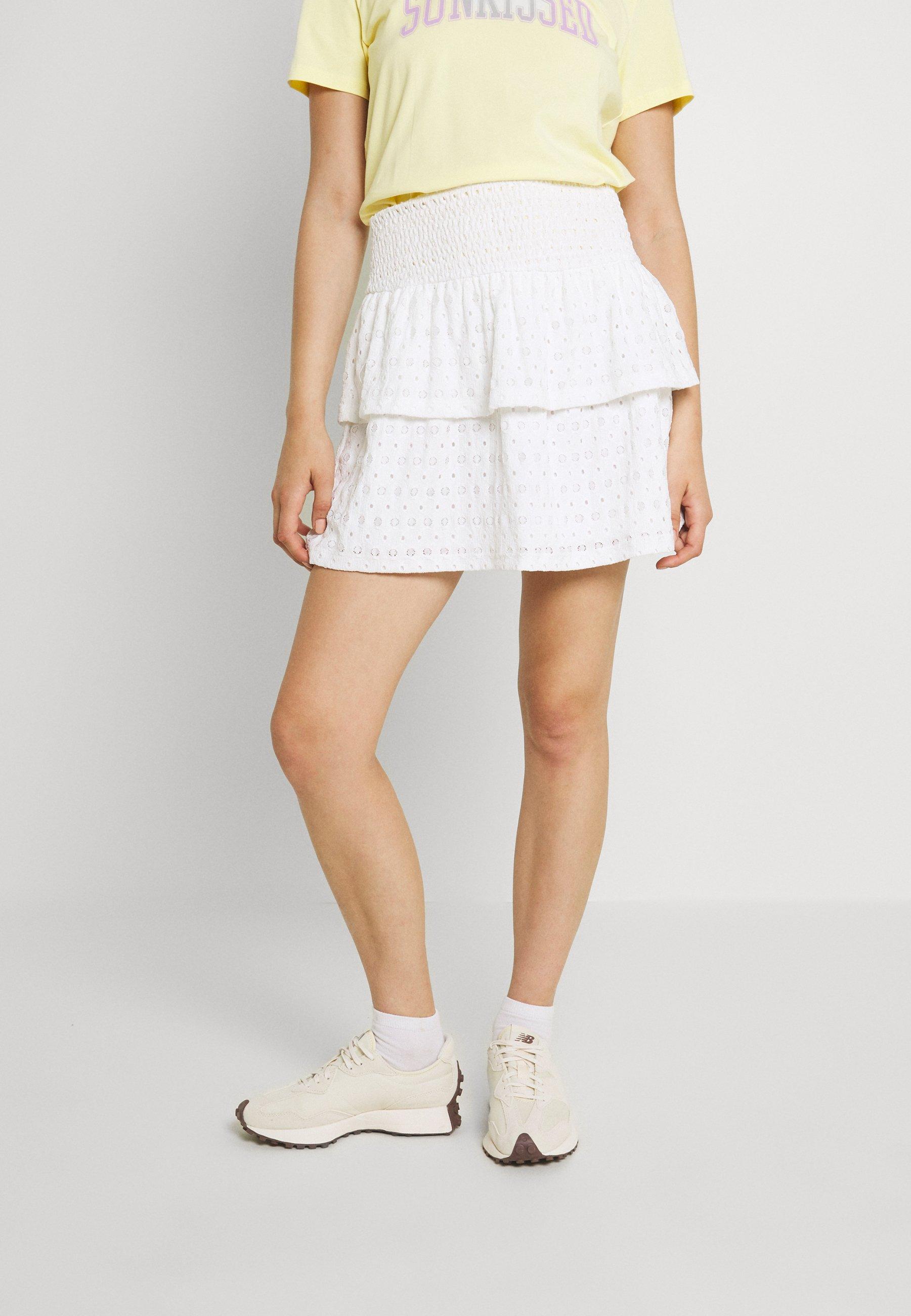 Mujer PCCHRISTY SMOCK SKIRT - Minifalda