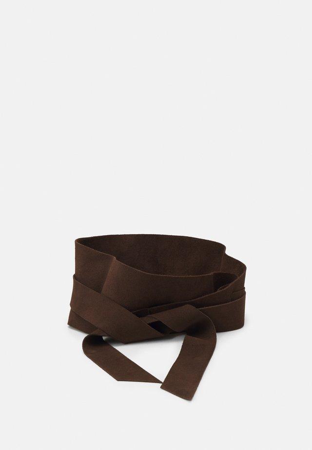 Belt - darkbrown