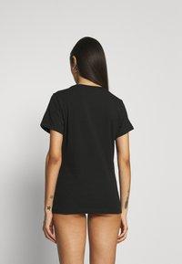Calvin Klein Underwear - CK ONE CREW NECK 2 PACK - Maglia del pigiama - black - 2