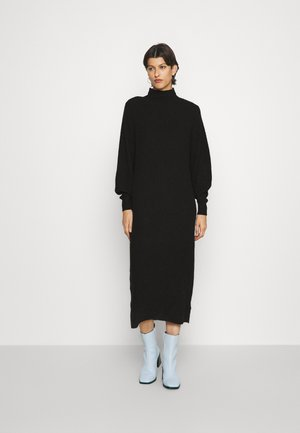 ONLLUCCA  O NECK DRESS - Gebreide jurk - black