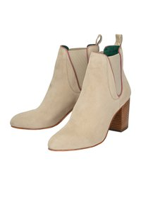 Crickit - STIEFELETTE ANGELINA - High heeled ankle boots - beige - 4