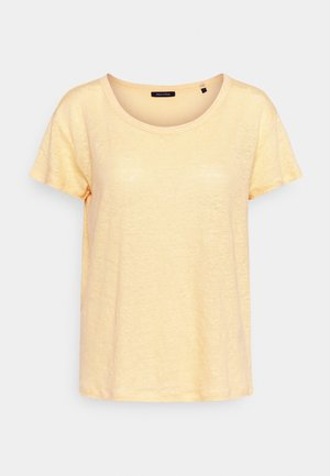 Jednoduché triko - light yellow