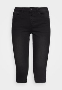 VMSEVEN BUTTON FLY KNICKERS - Denim shorts - black
