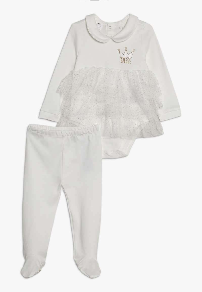 Guess - SET - Leggings - Trousers - white clay