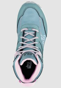 Jack Wolfskin - WOODLAND TEXAPORE MID K - Hiking shoes - grey pink - 3