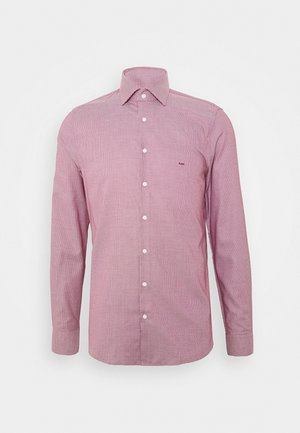 STRUCTURE EASY CARE SLIM - Shirt - rumba red
