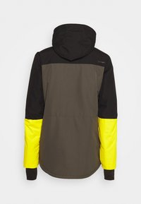 Brunotti - ARACIN MENS SNOWJACKET - Snowboardová bunda - pine grey - 8