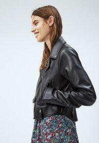 Pepe Jeans - GWEN - Imitatieleren jas - black - 4