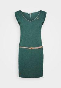 Ragwear - SLAVKA - Žerzejové šaty - dark green - 4