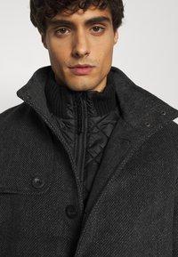 TOM TAILOR - COAT - Classic coat - dark grey - 5
