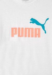 Puma - LOGO SILHOUETTE - Print T-shirt - puma white - 2