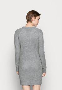 Even&Odd - Robe pull - mottled grey - 2