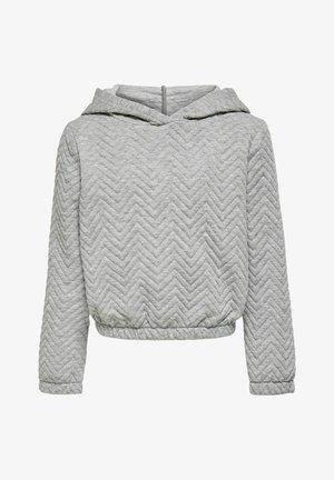 Sweat à capuche - light grey melange