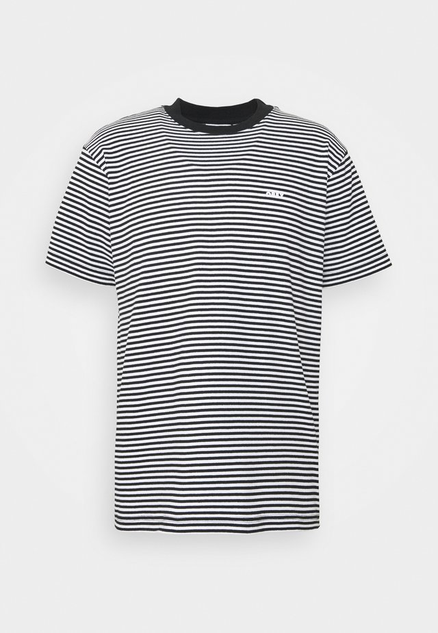 IDEALS STRIPE TEE - T-shirt print - black
