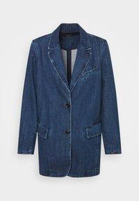HAISLEY RELAXED - Short coat - blue sea