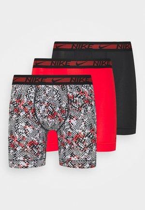 BOXER BRIEF 3PACK - Underkläder - chili red/black